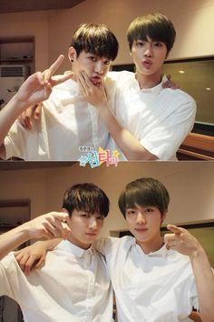 Jin and jungkook. Jungkook And Jin, Bts Bangtan Boy, Bts Jungkook, Taehyung, Foto Bts, Bts Photo, Seokjin, Hoseok, Kpop