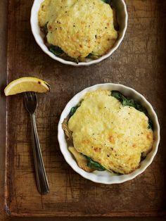 Oyster Mushrooms Rockefeller Recipe | Vegetarian Times