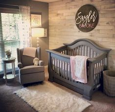 The first point to think about when painting a nursery is the way healthy the paint job will be. Decorating a nursery is among the best sections of giving birth to a baby. Whether you're planning an elaborate nursery or… Continue Reading → Baby Boy Rooms, Baby Boy Nurseries, Baby Room Ideas For Girls, Baby Girl Nursey, Baby Girl Nursery Pink And Grey, Rustic Baby Nurseries, Grey Crib, Babies Nursery, Room Baby