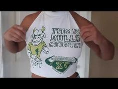 Backless Crop Top Or Halter Top {Requested} | DIY (No Sewing) - YouTube