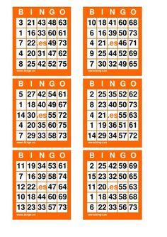 11 Ideas De Cartones De Bingo Cartones De Bingo Bingo Cartas De Bingo