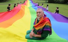 Gilbert Baker (born June 21, 1951):  In 1978 designer and activist Gilbert Baker came up with the idea of a flag that would symbolize the diverse range of individuals that were part of the gay rights movement.