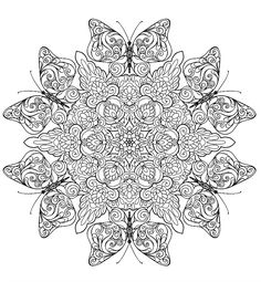 Coloring page from the ColorArt app