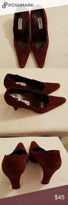 Sacha London Suede  Pumps Gorgeous, minor wear Sacha London Shoes