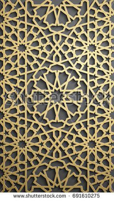 Islamic ornament vector , persian motiff . 3d ramadan islamic round pattern elements . Geometric circular ornamental arabic symbol vector .