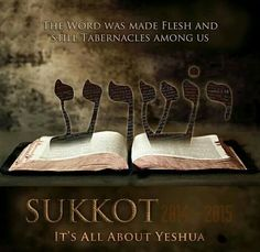 Yeshua was born on the first day of the Feast of Sukkot/Tabernacles. (Not Dec which is a pagan holiday) Sukkot is all about Yeshua ~ The Word was made flesh and still Tabernacles among us Feasts Of The Lord, Sabbath Rest, Feast Of Tabernacles, Strong Faith, Hebrew Words, Jesus Is Coming, The Son Of Man, Trumpets, Bible Truth