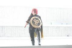 Shiny Aegislash Gijinka Tanking Your Blizzard by SiguusaEcho