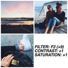 F2: +9 Contraste: +1 Saturación:-1 Sombras:+3 Tono:+1