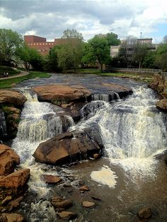 Falls Park Greenville SC- right in the heart of the city!
