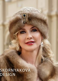 "Fur turban from marten ""Mata-Hari"" - Piercings Time Mode Turban, Fur Fashion, Womens Fashion, Fur Accessories, Fabulous Furs, Fancy Hats, Fascinator Hats, Fur Collars, Mode Style"