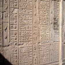 El calendario de las dias festivos y dias de las ofrendas en el templo de Kom Ombo ##excursiones_desde_luxor #tour_kom_ombo_templo #visita_del_templo_de_kom_ombo #Egipto_tours