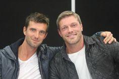 Lucas Bryant & Adam Copeland keeping Haven safe