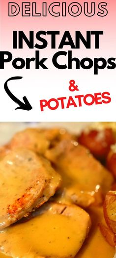 This is a easy dump and go Instant Pot pork chop and potatoes recipe!   Instant Pot Pork Chops   Instant Pot Ranch Pork Chops and Potatoes   Instant Pot Dump and Go Ranch Pork Chops and Potatoes   Instant Pot Dump and Go Pork   Instant Pot Dump and push start Pork Chops   Dump and Push Start Instant Pot Pork Chops   #instantpot #pressurecooking #pork #easydinner Cheap Meals To Cook, Cheap Vegetarian Meals, Dinner Recipes Easy Quick, Quick Easy Meals, Easy Recipes, Instant Pot Pork Chops, Pork Chops And Potatoes, Ranch Pork Chops, Bald Women