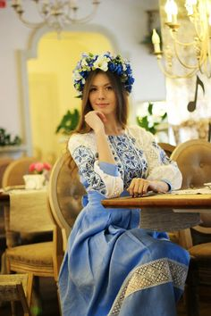 How to meet Eastern European brides? Women from Ukraine and Russia are looking for good, honest and reliable men like you! Find your love easy! Most Beautiful Women, Beautiful Outfits, Ukrainian Dress, Ukraine Women, Ethno Style, Russian Beauty, Folk Fashion, Embroidered Clothes, Folk Costume