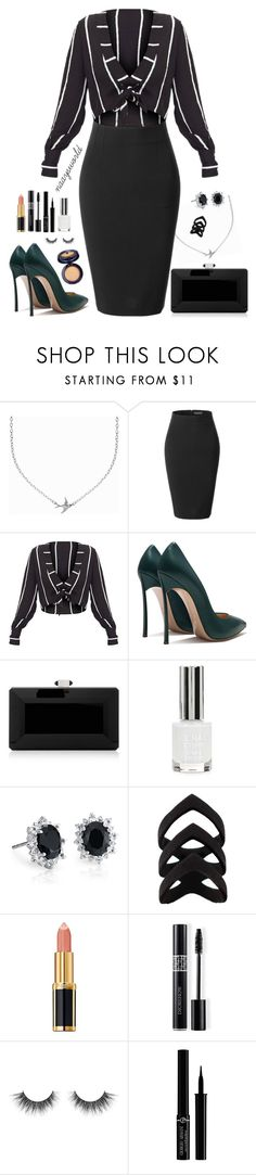 """Shape of u."" by naaysworld ❤ liked on Polyvore featuring Minnie Grace, LE3NO, Judith Leiber, Topshop, Blue Nile, Balmain, Christian Dior, Giorgio Armani and Estée Lauder"