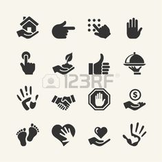 hands: Web icon set - Hand