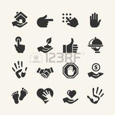 hands: Web icon set - Hand