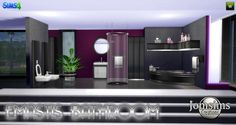 EMASTIS bathroom at Jomsims Creations via Sims 4 Updates