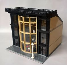 Over the last several months MoreCityBricks has built some awesome modular buildings. Included here is a townhouse, grocery store, concert hall and Apple store