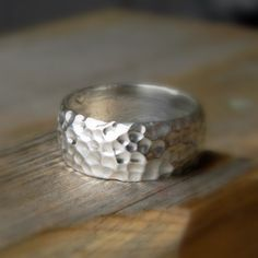 I love everything about onegarnetgirl's jewlery on this site. Perhaps a 'forever' ring could be made by her...