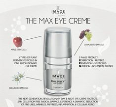 Brand New Image The Max Eye Creme packaging ...