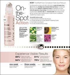 Mary Kay NEW TimeWise Even Complexion Dark Spot Remover! Contact me to place your order! www.marykay.com/sdetherage