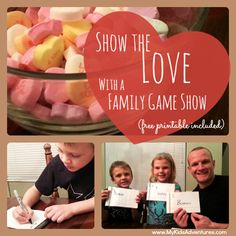 Host a family game show to quiz your knowledge of each other in a fun, exciting and lively matching competition your kids will love.