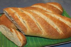 Home made Crusty French Loaf