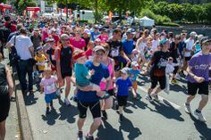 En début d'après-midi, il y avait aussi beaucoup de monde au départ du trail des familles. (Photo: Patrice Campion/Ville d'Angers)
