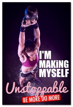 I'M MAKING MYSELF Unstoppable #CrossFiT