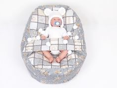 Pelíšek pro miminko PEČVORK, 100% bavlna