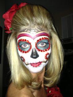 Dia de los muertos--this would be perfect!