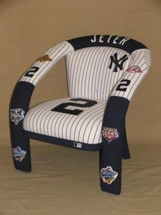 New York Yankees Derek Jeter chair