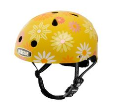 "Nutcase Little Nutty Daisy Crazy Bike Helmet, Yellow, X-Small (46 cm-52 cm) by Nutcase. $60.00. All Little Nutty helmets comply with US CPSC Bicycle Helmet Safety Standards for persons age 5 and older. The Little Nutty helmet is size XS, and fits heads 46cm - 52cm or 18"" - 20.5"". See the Little Nutty Size Chart to determine a good fit. If your head measurement is 52cm/20.5"" (maximum size of the Little Nutty XS), we recommend ordering a S-M Street helmet. Each Littl..."