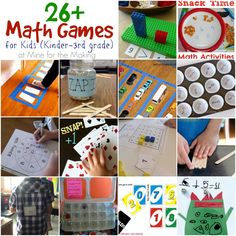 Teach Me Tuesday: 26+ Math Games for Kids - Mine for the Making