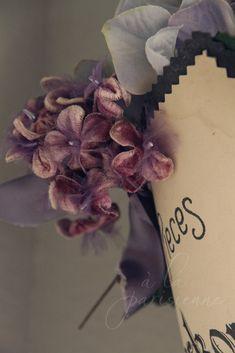 Velvet millinery flowers