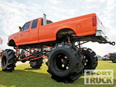 Custom Truck Show Lifted Ford Truck