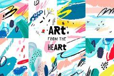 """다음 @Behance 프로젝트 확인: """"ART from the heART"""" https://www.behance.net/gallery/32257197/ART-from-the-heART"""