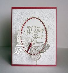 Wedding Butterflies by frenziedstamper - Cards and Paper Crafts at Splitcoaststampers