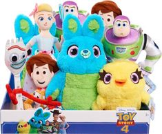 Toy Story 4 - Small Plush - Styles May Vary Toy Story Plush, New Toy Story, Disney Store Toys, Disney Toys, Toy Story Nursery, Cool Kids Bedrooms, Princess Toys, Disney Plush, Bunny Toys