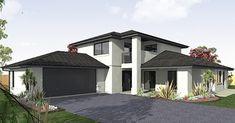 El plano de la casa  es grande y bonito que cabe en un terreno de 282 m2, tiene en él un área de jardín no tan grande con vista esp...