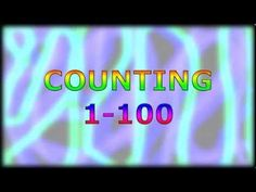 Learn how to count in English. and videos with written numbers. Learning Colors, Kids Learning, Telling Time In English, First Grade Addition, 1st Grade Spelling, Learn To Count, English Alphabet, School Videos, Educational Videos