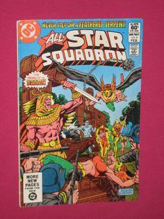 All-Star Squadron #6 DC Comics 1982 - Hawkman, Hawkgirl, Nazi, Atom, Blitzkrieg   eBay