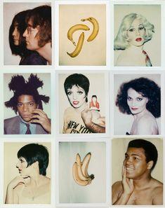 Fotos da Polaroid de Andy Warhol com John Lennon e muito mais artistas - Pop art e Polaroid - Andy Wahrol Photograps. Curiosidades da arte.