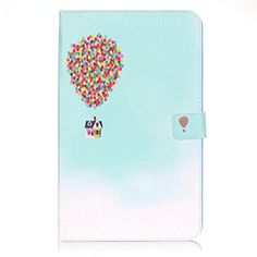 Galaxy Tab E 9.6 Case,[Flying House] Cute Ultra Slim Folio Flip Stand PU Leather Case with Card Slots Protective Cover for Samsung Galaxy Tab E 9.6 inch Tablet SM-T560 - Brought to you by Avarsha.com