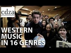 """What a Wonderful World"" - An Abridged History of Western Music in 16 GENRES!!  This would be great to teach students about stylistic differences... :)"