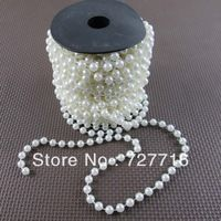 8mm WHITE ABS pearl String / Garland for wedding decor / DIY accessories17Meter / roll  -Free shipping Pearl Garland, Diy Wedding Decorations, Party Supplies, Pearls, Abs, Free Shipping, Jewelry, Crunches, Jewlery