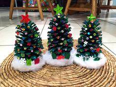 Decorate Pinecone Christmas Trees