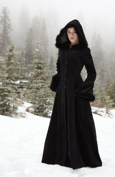 {oh!} Anastasia Coat, $255. 100% cotton velvet, fully lined in satin. <3 <3 <3