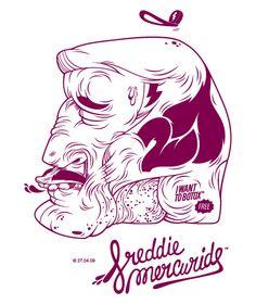 Hellofreaks - Freddie Mercuride